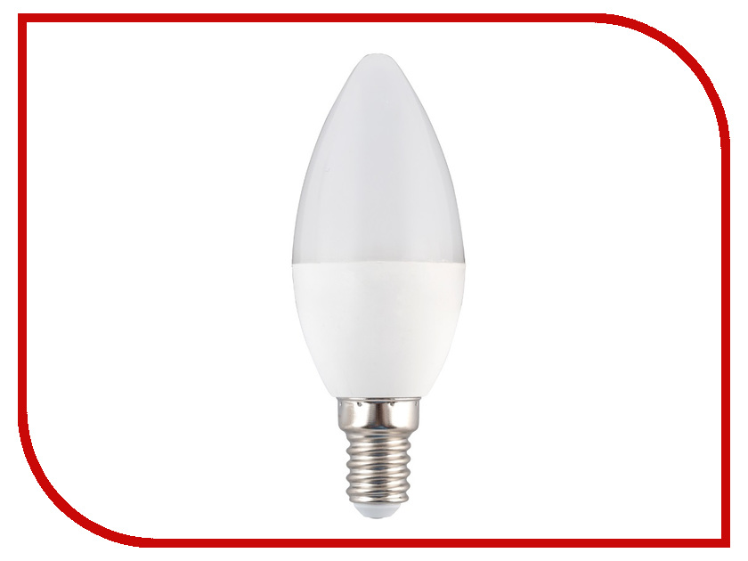 Лампочка Sparkled Candle E14 C37 3W 185-265V 3000K LLS37-3E-30-14 e14 3w 270lm 6500k white non dimmable led candle candelabrum lamp bulb silver 6 pcs