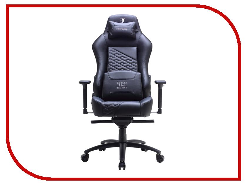 Компьютерное кресло Tesoro Zone Evolution F730 Black дутики tesoro tesoro te947amkec74