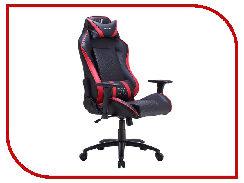 Компьютерное кресло Tesoro Zone Balance F710 Black-Red TS-F710RD dxracer oh ea01 nr компьютерное кресло black red