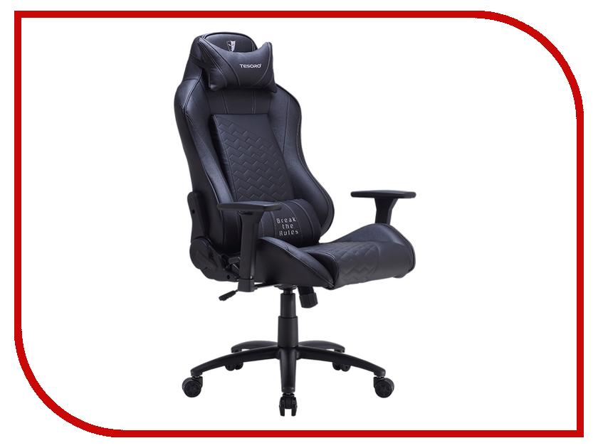 Компьютерное кресло Tesoro Zone Balance F710 Black TS-F710BK компьютерное кресло tesoro zone balance f710 black red ts f710rd