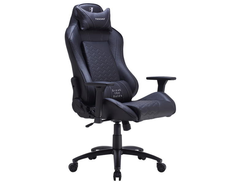 лучшая цена Компьютерное кресло Tesoro Zone Balance F710 Black TS-F710BK