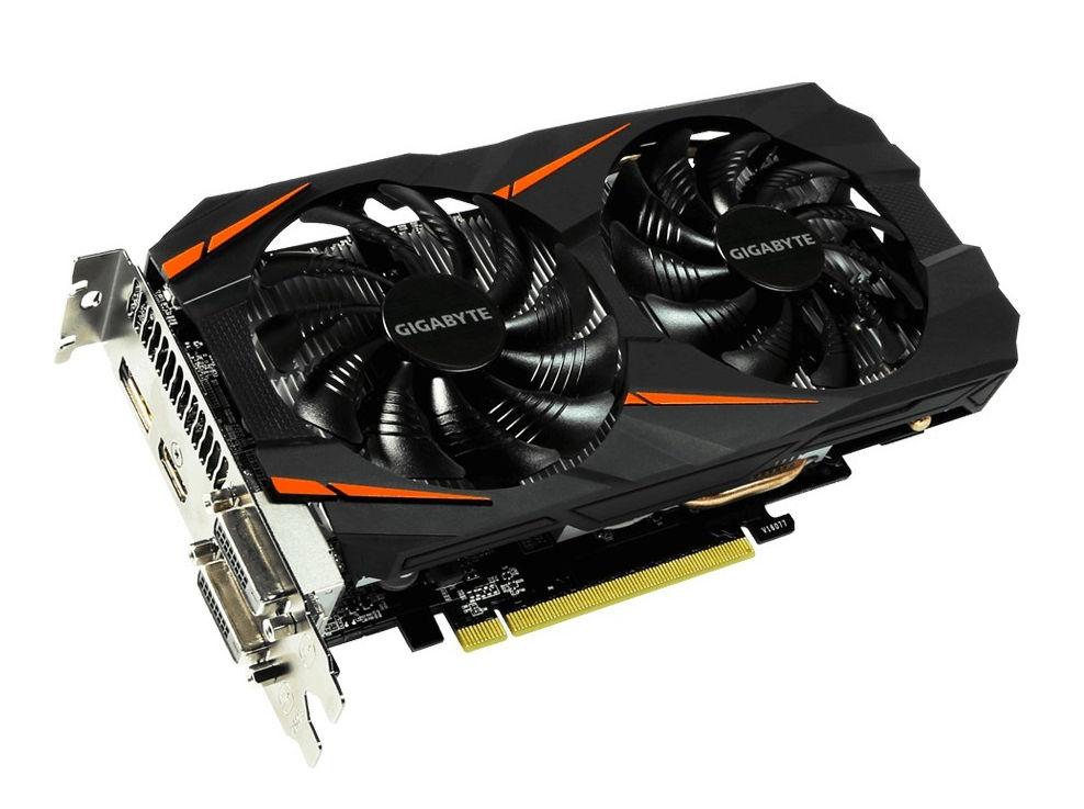 цена на Видеокарта GigaByte GeForce GTX 1060 1556Mhz PCI-E 3.0 6144Mb 8008Mhz 192 bit DVI HDMI OEM GV-N1060WF2OC-6GD-MI