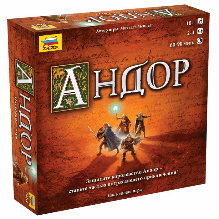 Настольная игра Zvezda Андор 8684