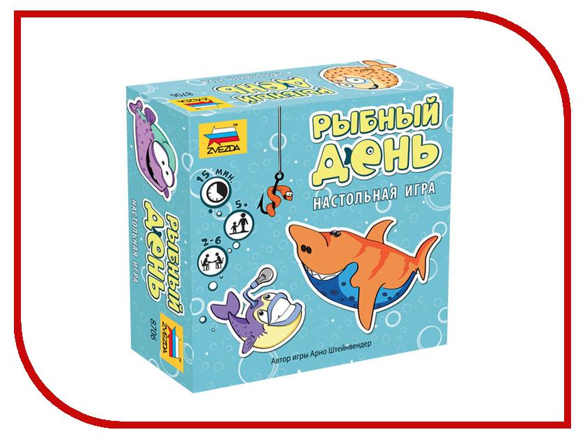 Настольная игра Zvezda Рыбный день 8706 икра русский рыбный мир