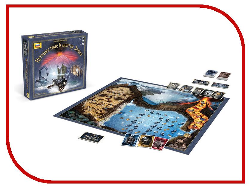Настольная игра Zvezda Путешествие к центру Земли 8745 путешествие к центру земли cdmp3