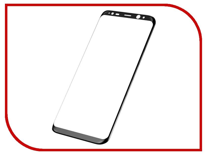 Аксессуар Защитное стекло Samsung Galaxy S8 Plus Onext 3D Black 41264 аксессуар защитное стекло samsung galaxy s8 plus onext 3d white 41265