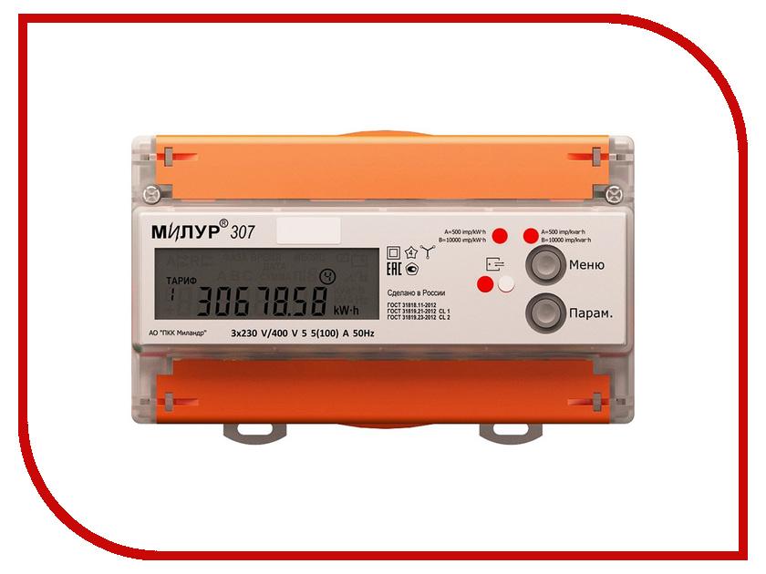Счетчик электроэнергии Милур 307.42-1L camay 1l