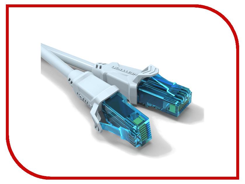 Сетевой кабель Vention UTP RJ45 5m VAP-A10-S500 vention 10 штуков 1 пакет соединитель utp lan ethernet rj45 cat6e штекер 8p8c rj45 модульный штекер для сетевого кабели