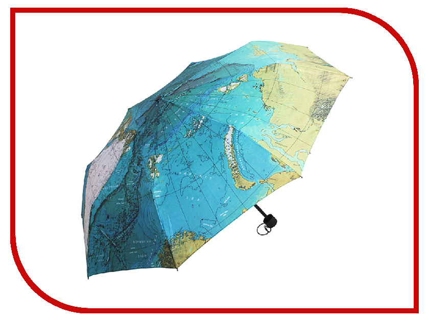 Зонт Эврика Карта Мира 97875 зонт эврика двойной black 91046