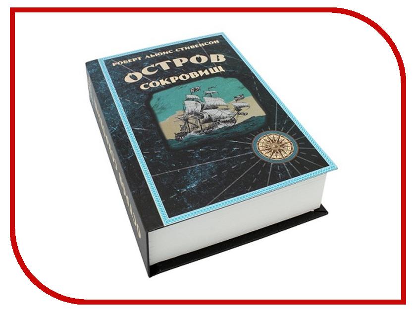 Сейф-книга Эврика Остров Сокровищ 98360 остров капитанов книга