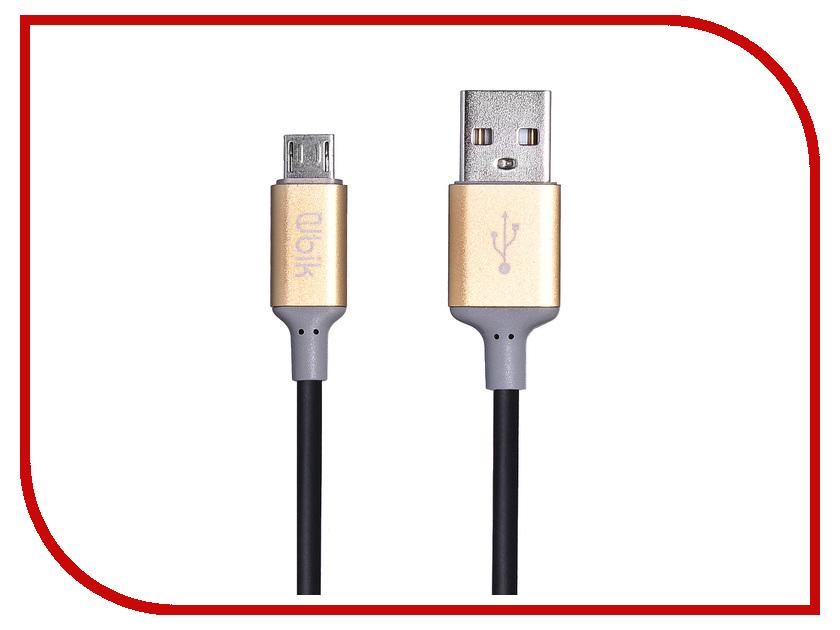 Аксессуар Ubik UPM02 USB - Micro USB Black цена и фото