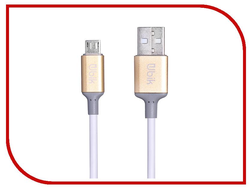 Аксессуар Ubik UPM02 USB - Micro USB White цена и фото