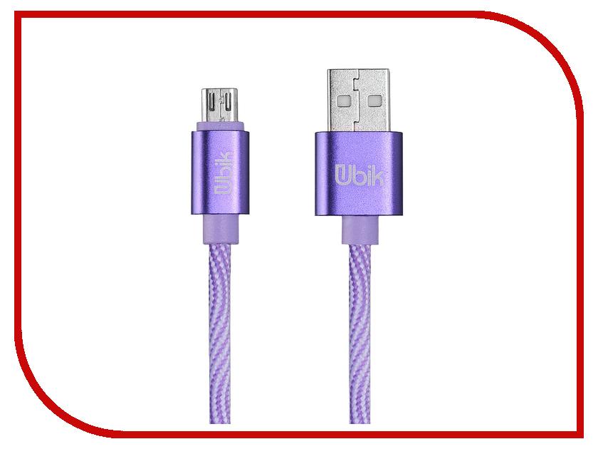 Аксессуар Ubik UM08 USB - Micro USB Purple