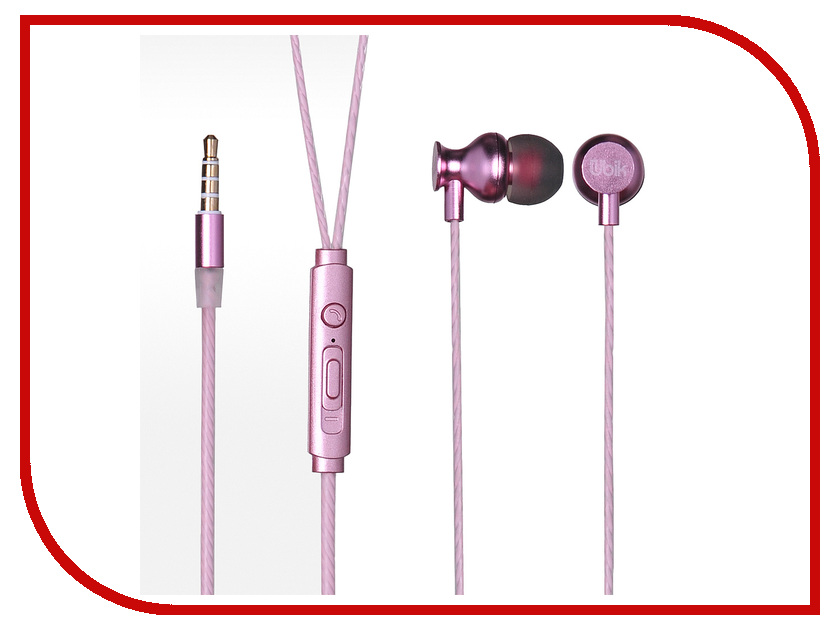 Гарнитура Ubik UE04M Pink