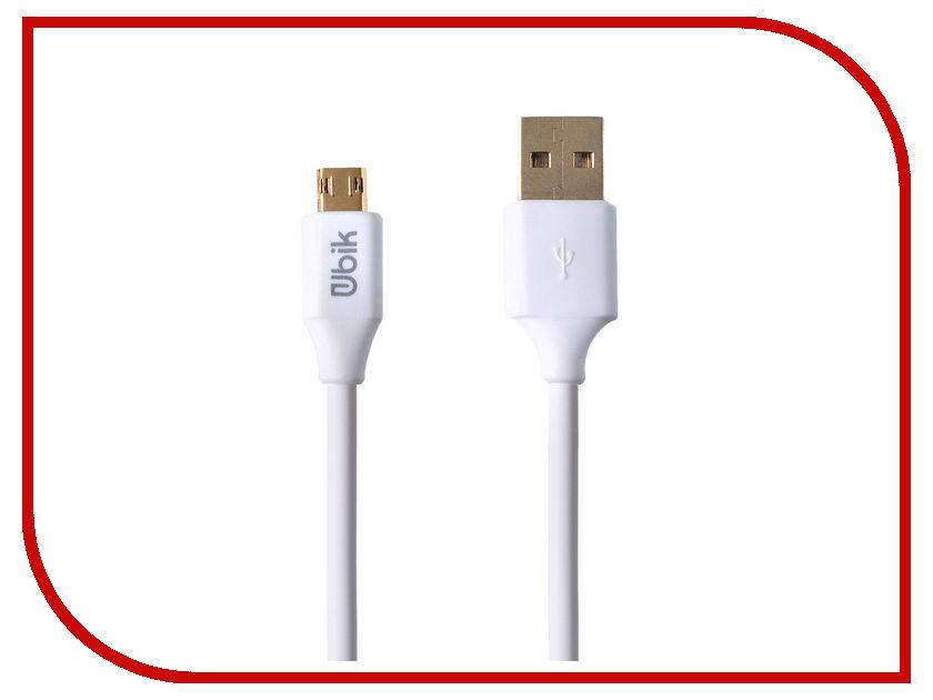 Аксессуар Ubik UL05 USB - Micro USB White цена и фото