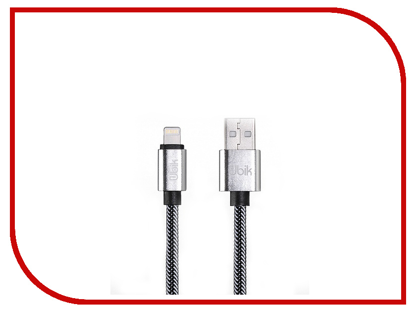 Аксессуар Ubik UPL01 USB - Lightning White цена и фото