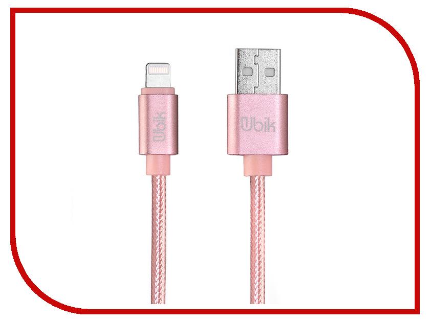 Аксессуар Ubik UL09 USB - Lightning Pink