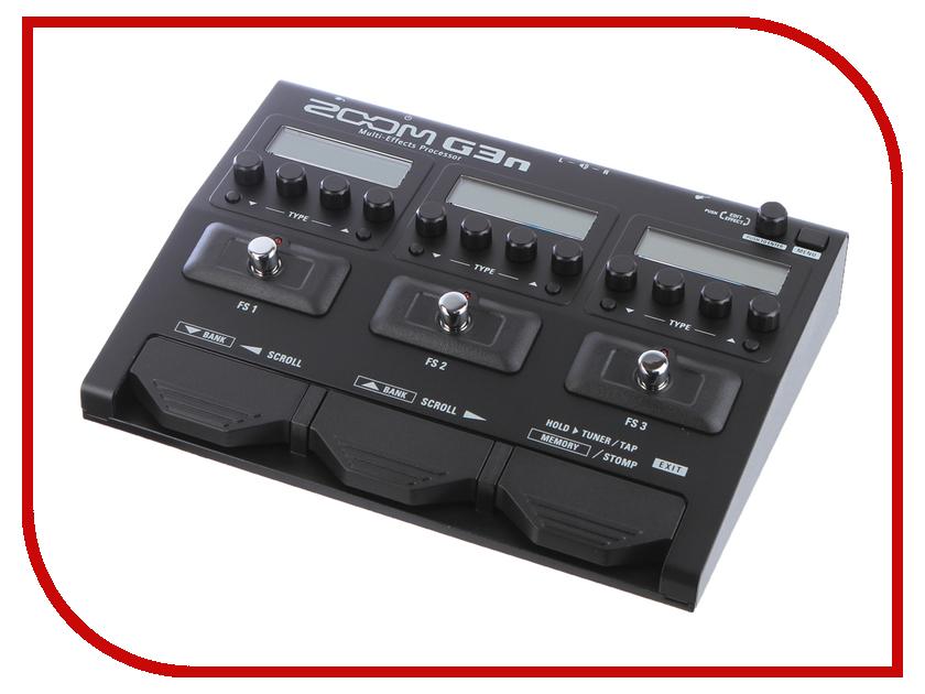Гитарный процессор Zoom G3n гитарный процессор boss re 20
