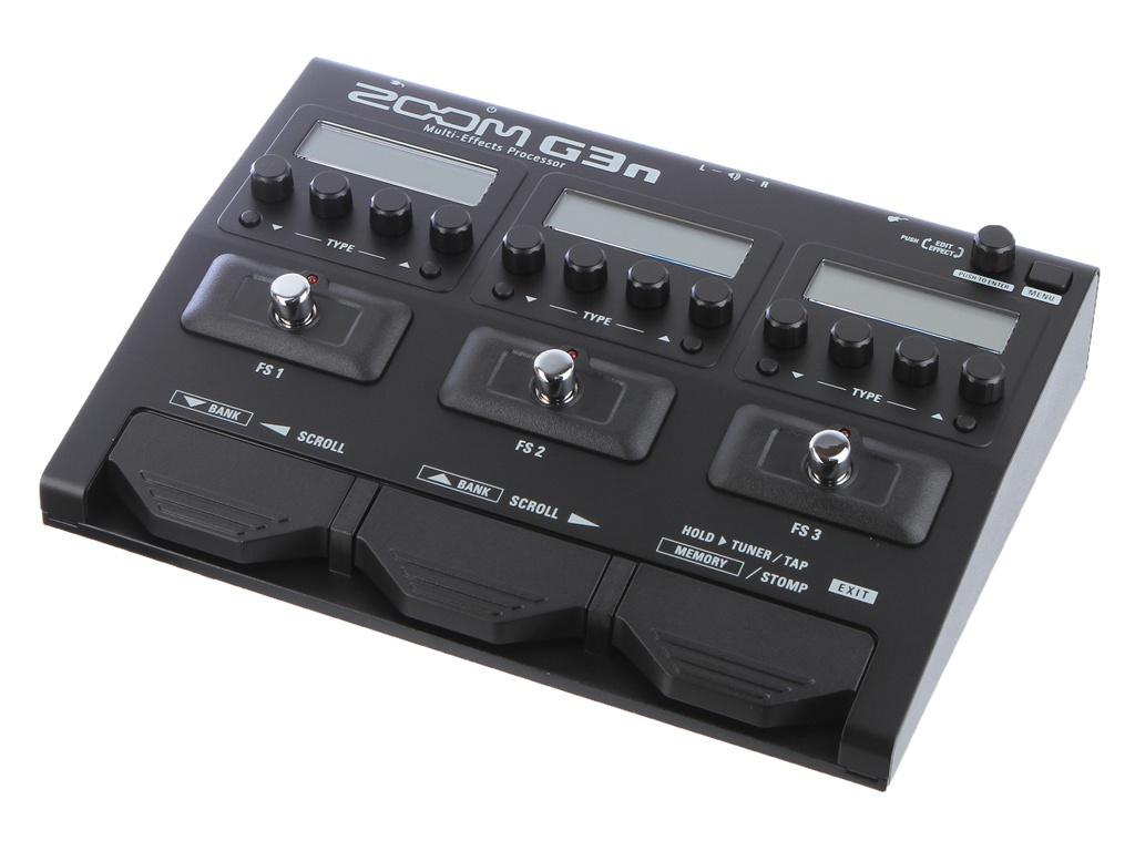 лучшая цена Гитарный процессор Zoom G3n