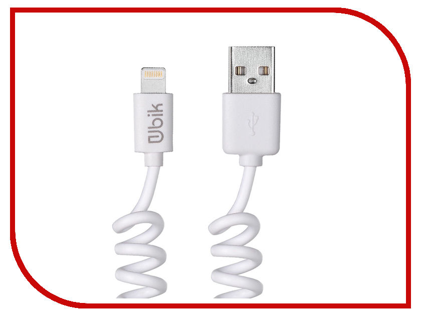 Аксессуар Ubik UL06 USB - Lightning White