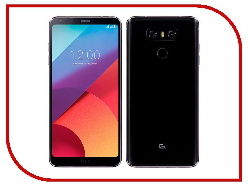 Сотовый телефон LG H870S G6 32Gb Black сотовый телефон lg k350e k8 black blue