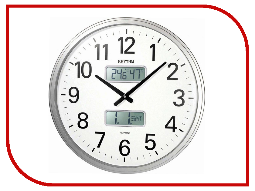 CFG709NR19  Часы RHYTHM CFG709NR19