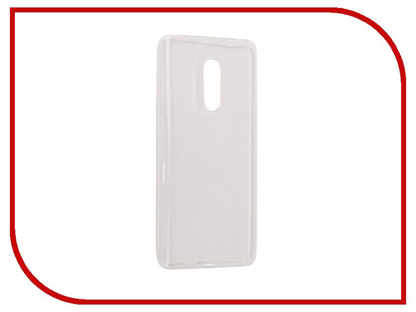 Аксессуар Чехол Xiaomi Redmi Note 4X BROSCO Silicone Transparent XM-RN4X-TPU-TRANSPARENT