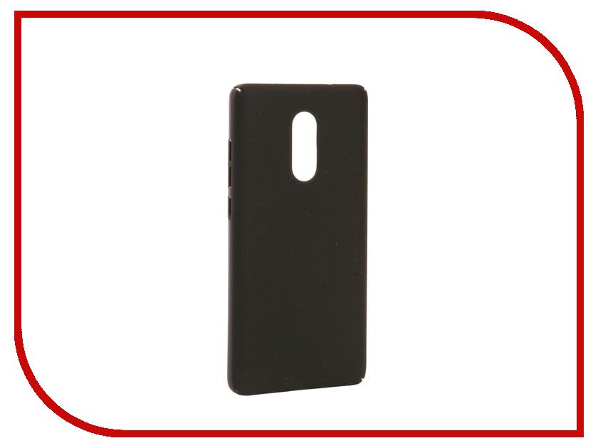 Аксессуар Чехол Xiaomi Redmi Note 4X BROSCO Black XM-RN4X-4SIDE-ST-BLACK аксессуар чехол xiaomi mi6 brosco silicone black xm mi6 tpu black