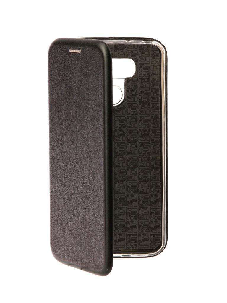 цена на Аксессуар Чехол Brosco для LG G6 Black LG-G6-BOOK-BLACK