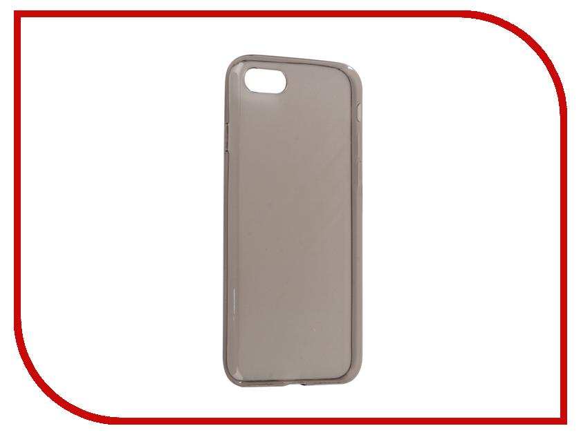 Аксессуар Чехол BROSCO Silicone для APPLE iPhone 8 Black IP8-TPU-BLACK аксессуар чехол xiaomi mi6 brosco silicone black xm mi6 tpu black