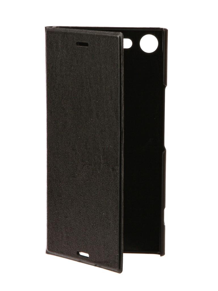 Чехол Brosco для Sony Xperia XZ Premium PU Black XZP-BOOK-BLACK