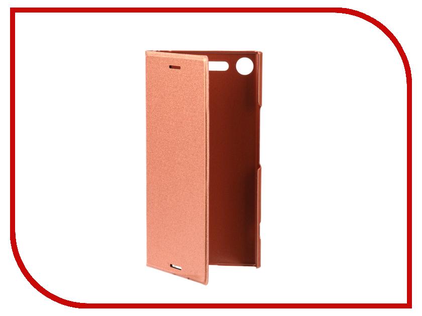 Аксессуар Чехол для Sony Xperia XZ Premium BROSCO PU Pink XZP-BOOK-PINK аксессуар чехол htc u ultra brosco black htc uu book black
