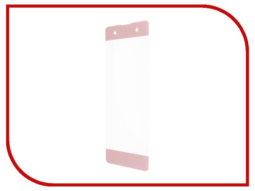 Аксессуар Защитное стекло Sony Xperia XZ Premium BROSCO 3D Pink XZP-3D-GLASS-PINK аксессуар защитное стекло sony xperia z5 premium brosco 0 3mm z5p sp glass