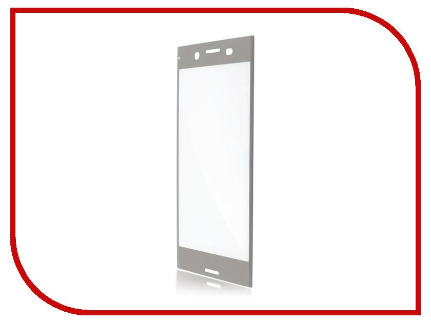Аксессуар Защитное стекло Sony Xperia XZ Premium BROSCO Full Screen 3D Silver XZP-3D-FS-GLASS-SILVER аксессуар защитное стекло sony xperia z5 premium brosco 0 3mm z5p sp glass