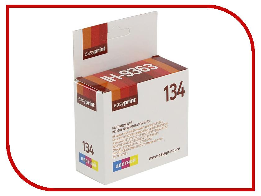 Картридж EasyPrint IH-9363 №134 для HP Deskjet 460/5743/5943/6543/6943/6983/9803/Photosmart 2613/2713/325/335/375/385/428/475/8053/8753 картридж hp 135 c8766he tri colour для dj5743 6543 6843 oj6213 7313 7413 ps2613 2713 8153 8453