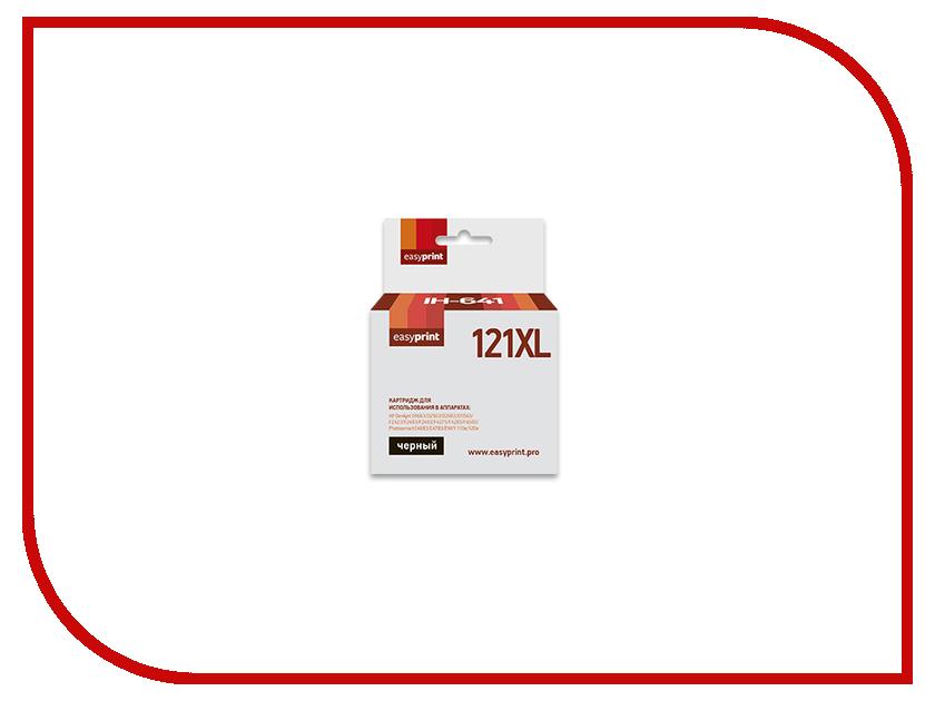 Картридж EasyPrint IH-641 №121XL Black для HP Deskjet D1663 / D2563 / D2663 / D5563 / F2423 / F2483 / F2493 / F4275 / F4283 / F4583 / Photosmart C4683 / C4783 / ENVY 110e / 120e