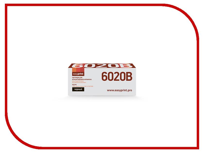 Картридж EasyPrint LX-6020B для Xerox Phaser 6020/6022/WorkCentre 6025/6027 Black картридж easyprint lx 6020b черный 2000 стр для xerox phaser 6020 6022 workcentre 6025 6027