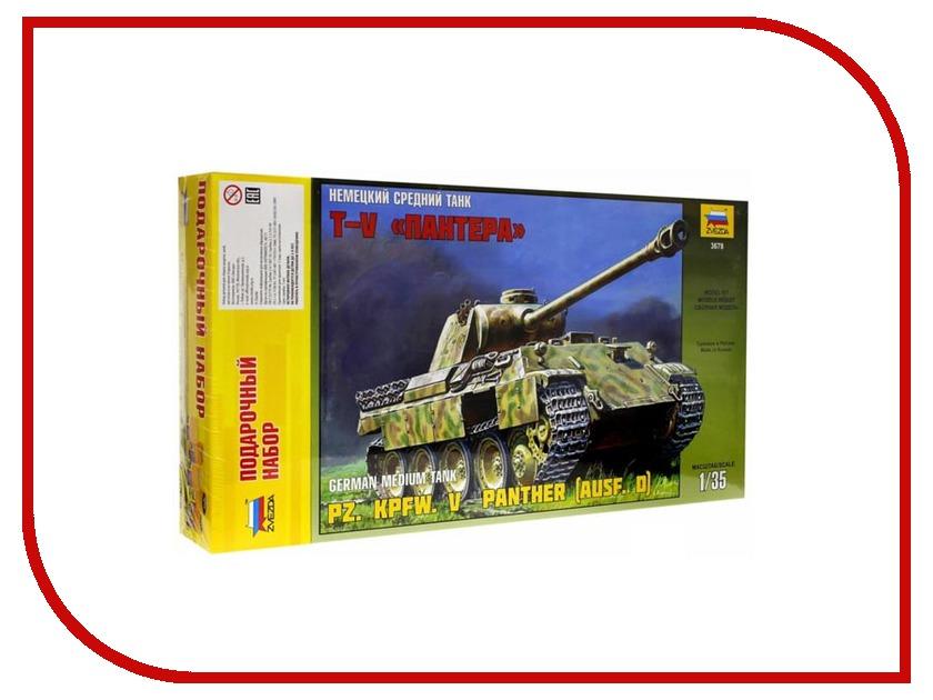 Сборная модель Zvezda Немецкий средний танк Пантера 3678П сборная модель zvezda немецкий танк t iv f2 6251