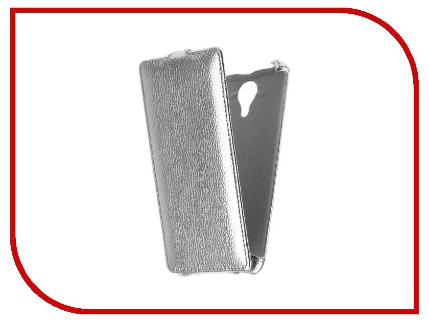 Аксессуар Чехол Micromax Q354 Zibelino Classico Silver ZCL-MCR-Q354-SLV micromax q354 3g 8gb copper gold