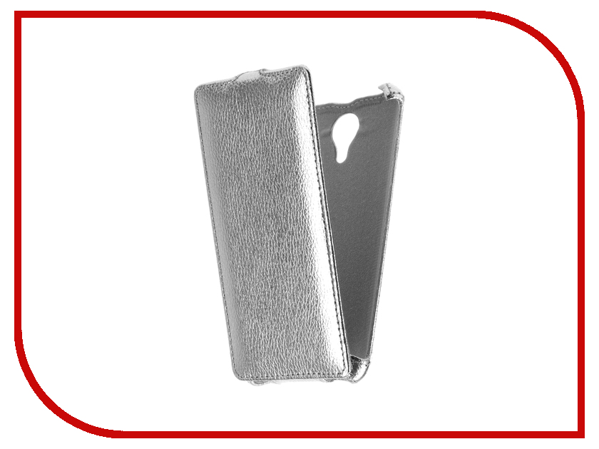 Аксессуар Чехол Micromax Q354 Zibelino Classico Silver ZCL-MCR-Q354-SLV аксессуар чехол micromax q480 canvas pace 2 zibelino classico black zcl mcr q480 blk