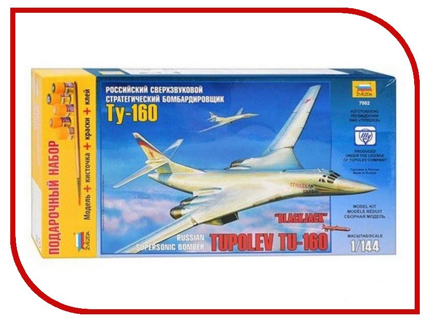 Сборная модель Zvezda Самолет Ту-160 7002П