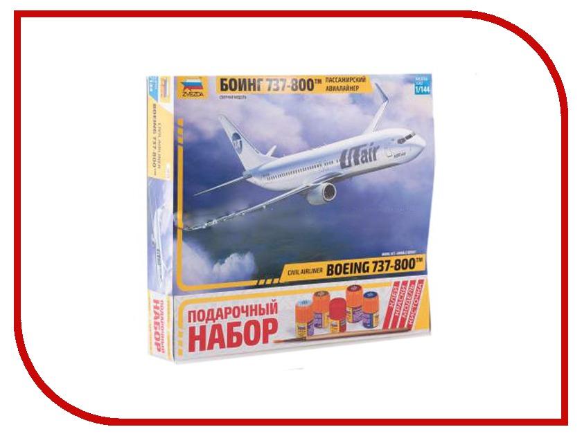цена на Сборная модель Zvezda Пассажирский авиалайнер Боинг 737-300 7019П