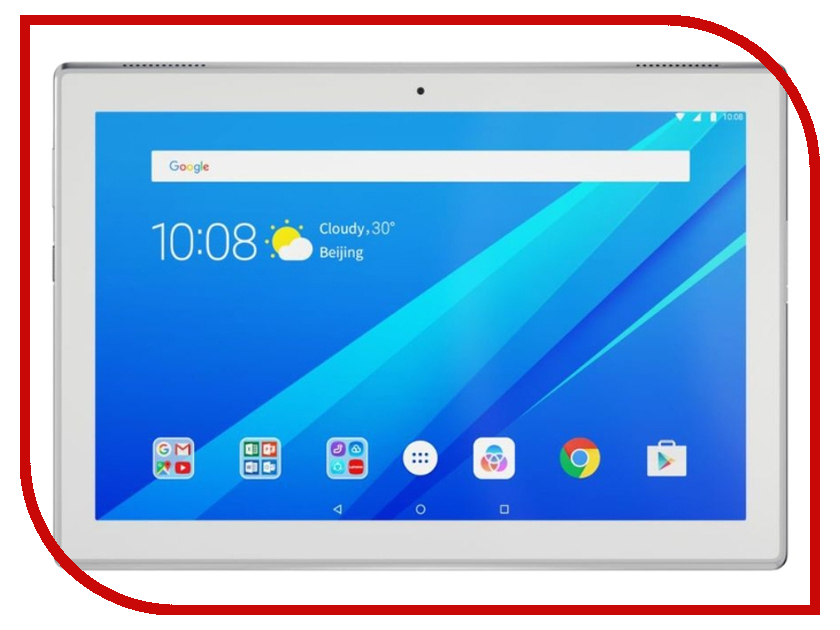 Планшет Lenovo Tab 4 TB-X304L ZA2K0123RU (Qualcomm Snapdragon 425 1.4 GHz/2048Mb/32Gb/3G/LTE/Wi-Fi/Cam/10.1/1280x800/Android) планшет lenovo tab 4 plus tb x704l 10 1 16gb белый lte wi fi 3g bluetooth android za2r0002ru