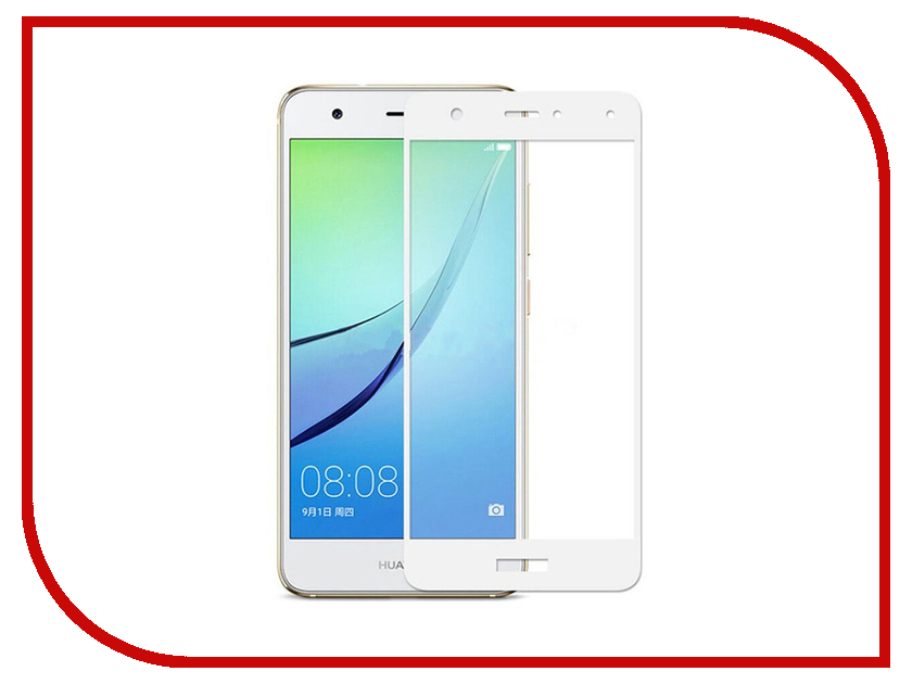 Аксессуар Защитное стекло Huawei Nova 2 Svekla Full Screen White ZS-SVHWNOVA2-FSWH