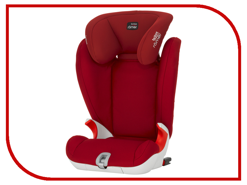 Автокресло Britax Roemer Kidfix SL Trendline Flame Red 2000022487