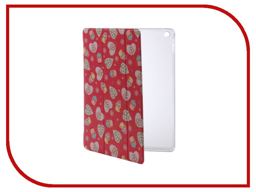 все цены на  Аксессуар Чехол Rock Annes Garden для APPLE iPad 2017 9.7 RPC1247 Rose Red  онлайн