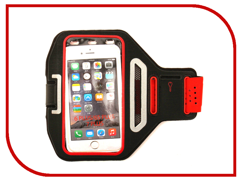 Аксессуар Чехол Activ 3.5-5.5-inch Armband Universal Red 73679 9 0 inch activ leather red 38392