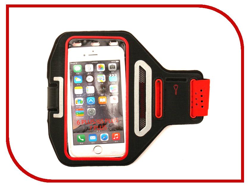 Аксессуар Чехол Activ 3.5-5.5-inch Armband Universal Red 73679 аксессуар чехол накладка micromax canvas viva a106 activ silicone black mat 46857