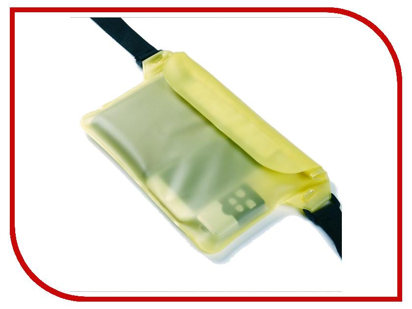 Аксессуар Чехол Activ Водонепроницаемый, поясной 210x170mm Yellow 67133 аксессуар чехол накладка micromax canvas viva a106 activ silicone black mat 46857