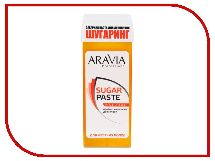 Домашний шугаринг Aravia Professional Сахарная паста Натуральная мягкая 150гр 1012 автоаромат сахарная пудра millefiori milano автоаромат сахарная пудра